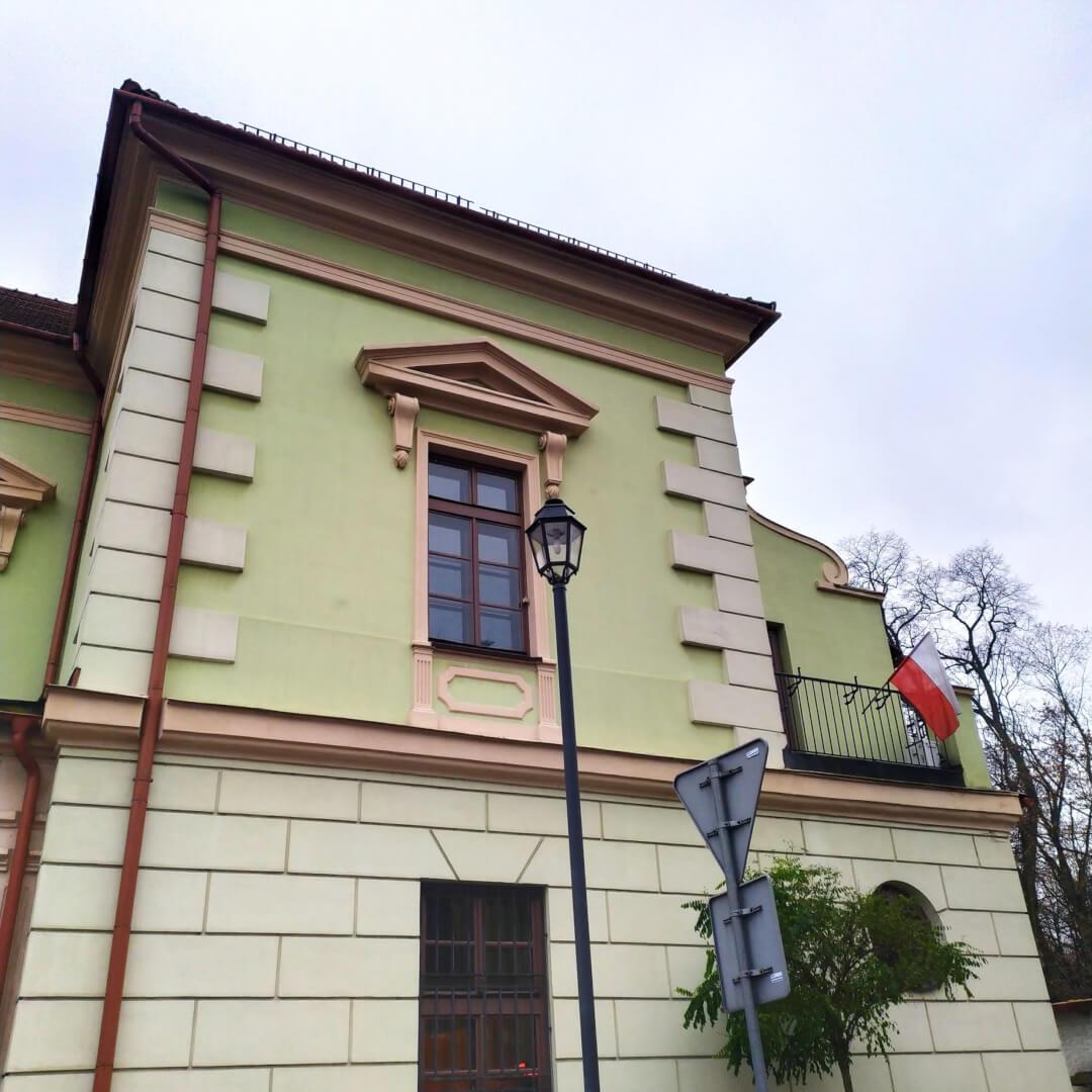 Pomiary jakości powietrza - Krzeszowice