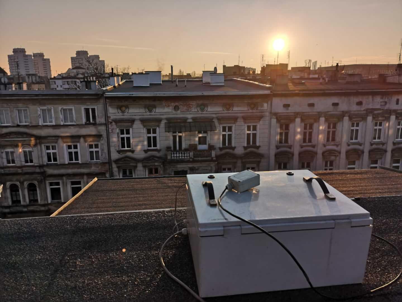 Pomiary jakości powietrza - Dolnośląski Alarm Smogowy