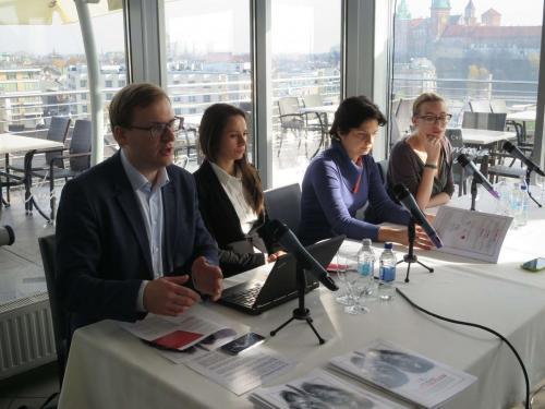 Konferencja prasowa - Żelazne płuca Polaków